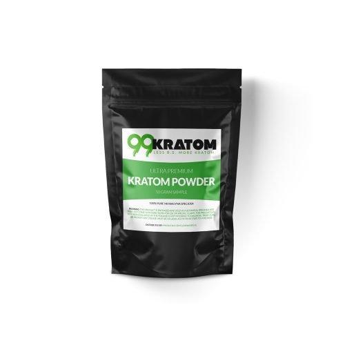 Sample of Kratom Powder