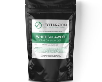 White Sulawesi Kratom Powder